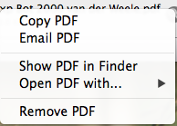 Papers application dialog box
