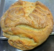 photo of bread boule